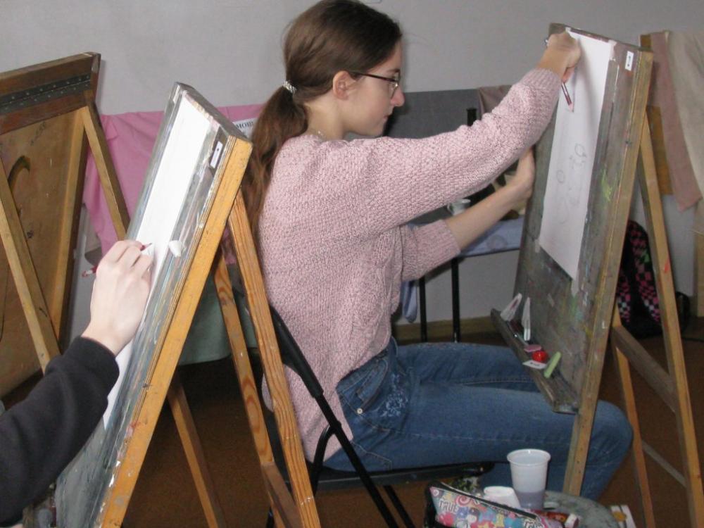 Новочеркасские школьники раскрывают художественные таланты