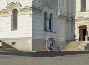 Министр культуры Ростовской области назвал укладку асфальта на Соборной площади в Новочеркасске «преступлением»