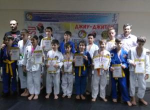 Новочеркасские спортсмены победили на областных соревнованиях по джиу-джитсу среди детей