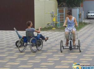 Дети-инвалиды из Новочеркасска стали участниками разработки уникальных транспортных средств