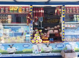 Павильон на Азовском рынке Новочеркасска испугал горожан опасным хранением продуктов