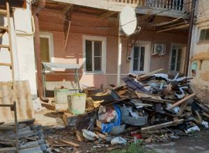 В Новочеркасске, капремонт многоквартирного дома обернулся для жителей катастрофой
