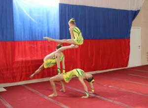 В Новочеркасске прошло областное  первенство по акробатике