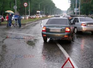 Две «Лады» не поделили дорогу в Новочеркасске