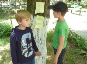 Стихи русских поэтов о лете развесили в Александровском парке Новочеркасска