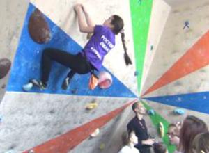 Четыре медали завоевали новочеркасские спортсмены на захватывающем турнире по скалолазанию