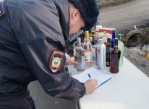 30 тысяч бутылок контрафактного алкоголя изъяли при обысках в Новочеркасске