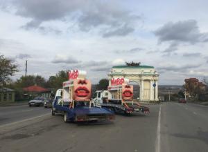 По Новочеркасску промчались двухъярусные кровати