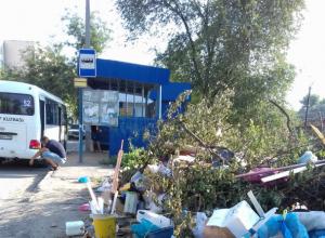«Пыль до небес и мусорные завалы», – жители улицы Украинской Новочеркасска устали от бездействия коммунальщиков