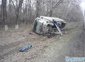 Водитель из Новочеркасска умер за рулем грузовика на трассе