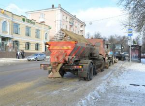 Грязный снег с дорог и улиц Новочеркасска будут свозить на полигон ТБО на Крайней