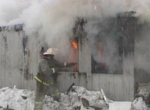 60-летний мужчина погиб во время пожара в Новочеркасске