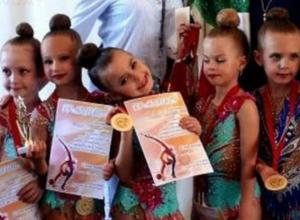 Новочеркасские гимнастки завоевали охапку золотых медалей