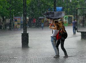 В Новочеркасске ожидается резкое похолодание, шквалистый ветер и гроза