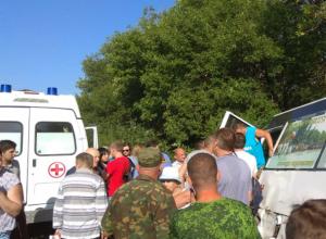 В разбившемся под Новочеркасском автобусе обошлось без пострадавших