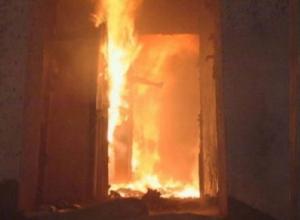 Молодая семья осталась без крова и имущества после пожара в Новочеркасске
