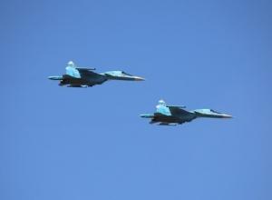 Генеральная репетиция демонстрации военной техники состоялась на полигоне под Новочеркасском
