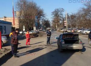 «Десятка» въехала в бок «Лексусу» в Новочеркасске