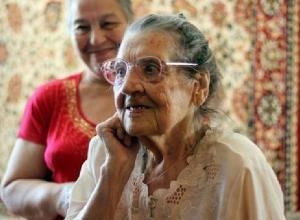 Участницу Курской битвы поздравили с 95-летием в Новочеркасске
