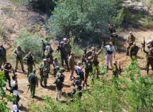 В поселке Кадамовский прошла реконструкция событий афганских военных действий
