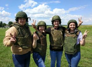 Сразу четыре редактора «Блокнота» поучаствовали в суперсовременной боевой подготовке под Новочеркасском