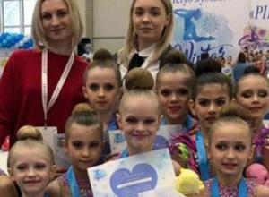 Новочеркасские гимнастки завоевали бронзу в серии клубных турниров Москвы