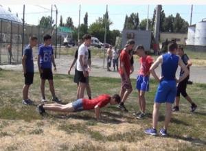 В Новочеркасске прошел Всероссийский олимпийский день