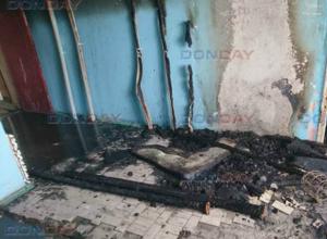 Хулиганы подожгли девятиэтажку в Новочеркасске