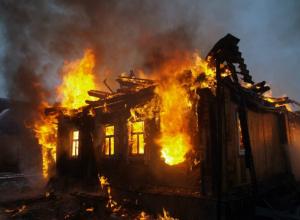 Пламя вспыхнуло в частном доме на улице Целинной Новочеркасска