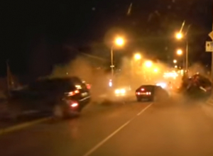 Опубликовано видео смертельного ДТП на спуске Герцена в Новочеркасске
