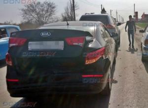 Невнимательный таксист на «четырнадцатой» разбил три машины в Новочеркасске