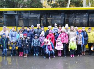 Семьи с особенными детьми посетили достопримечательности Новочеркасска