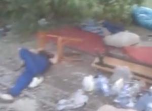 «Алкаши разбили лагерь в школе № 7» - житель Новочеркасска