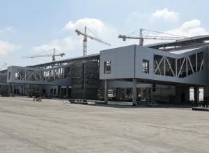 Пассажирский терминал нового аэропорта «Платов» готов к эксплуатации под Новочеркасском