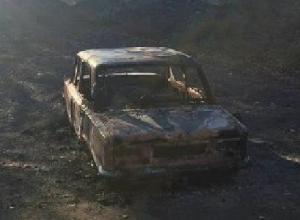 Угонщики сожгли красную «копейку» пенсионера под Новочеркасском