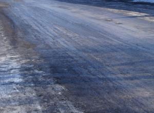 В Новочеркасске на минувших выходных скользкие дороги стали причиной ДТП