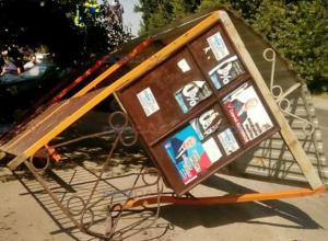 16-летний подросток на «Приоре» разнес автобусную остановку в Новочеркасске