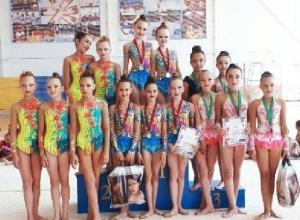 Юные новочеркасские «художницы» взяли шесть медалей на турнире в Сочи