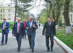 Новочеркасский политех посетила делегация Центра подготовки космонавтов