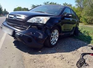 Уснувший за рулем водитель вылетел на встречку и врезался в «Хонду» под Новочеркасском