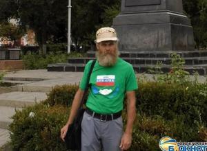 Объехавший на велосипеде всю Россию Алексей Орлов решил остаться в Новочеркасске