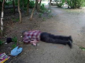 В переулке Магнитном Новочеркасска прохожие нашли труп