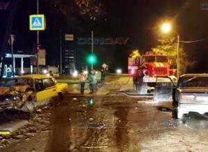 В лобовом столкновении двух «семерок» пострадали три человека в Новочеркасске