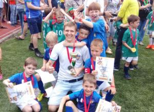 Мальчишки из Новочеркасска завоевали серебро международного футбольного турнира