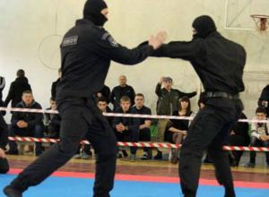 ОМОНовцы из Новочеркасска выступили на открытом первенстве по рукопашному бою