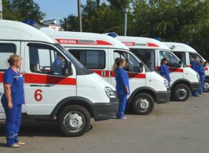 Автопарк скорой помощи в Новочеркасске пополнился семью новыми машинами