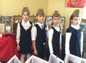 Трогательную патриотическую акцию «Журавлики» провели к 9 мая в Новочеркасске