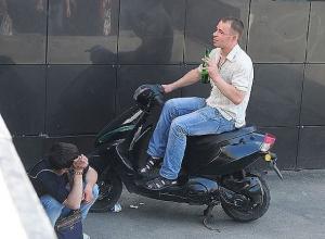 37-летнего скутериста во второй раз остановили пьяным в Новочеркасске
