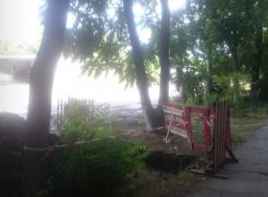 В Новочеркасске жители улицы Спортивной трое суток просидели без воды
