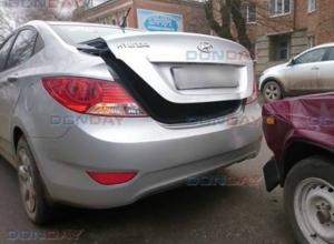 Три автомобиля пострадали по вине невнимательного водителя в Новочеркасске